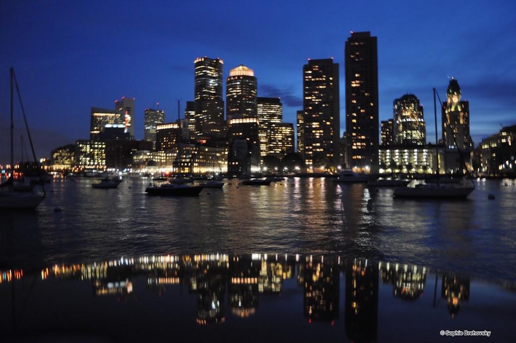 Boston skyline - Rowes Wharf