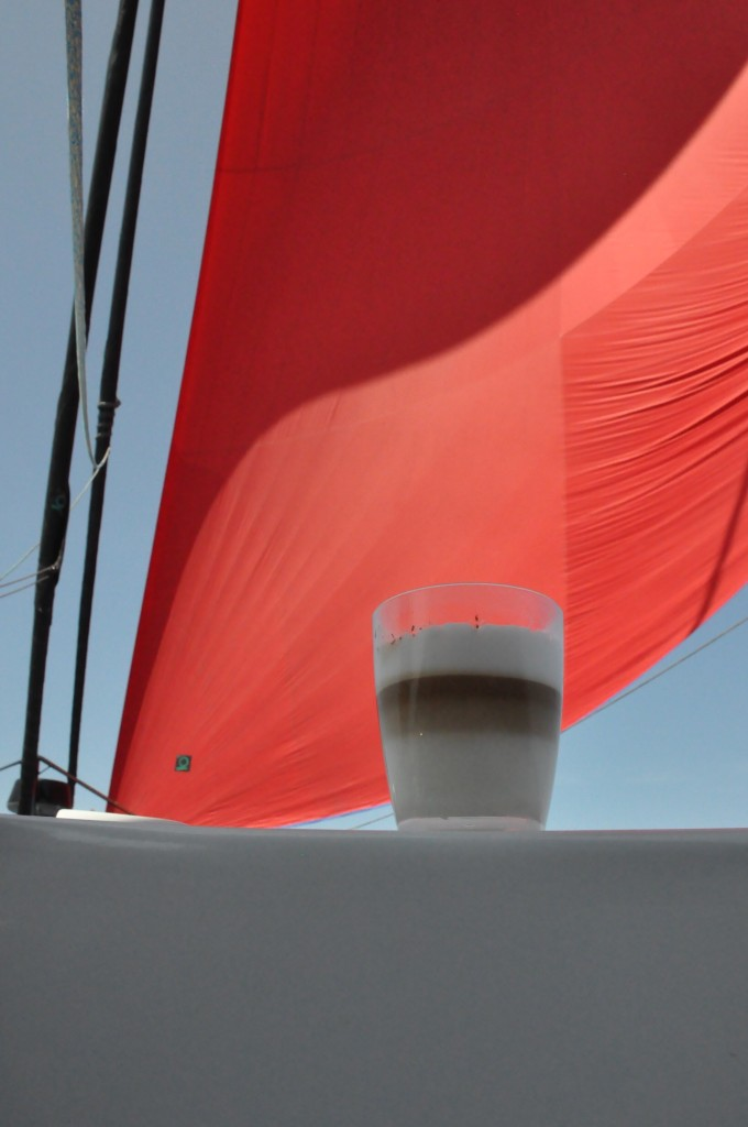 Café Latte at sea
