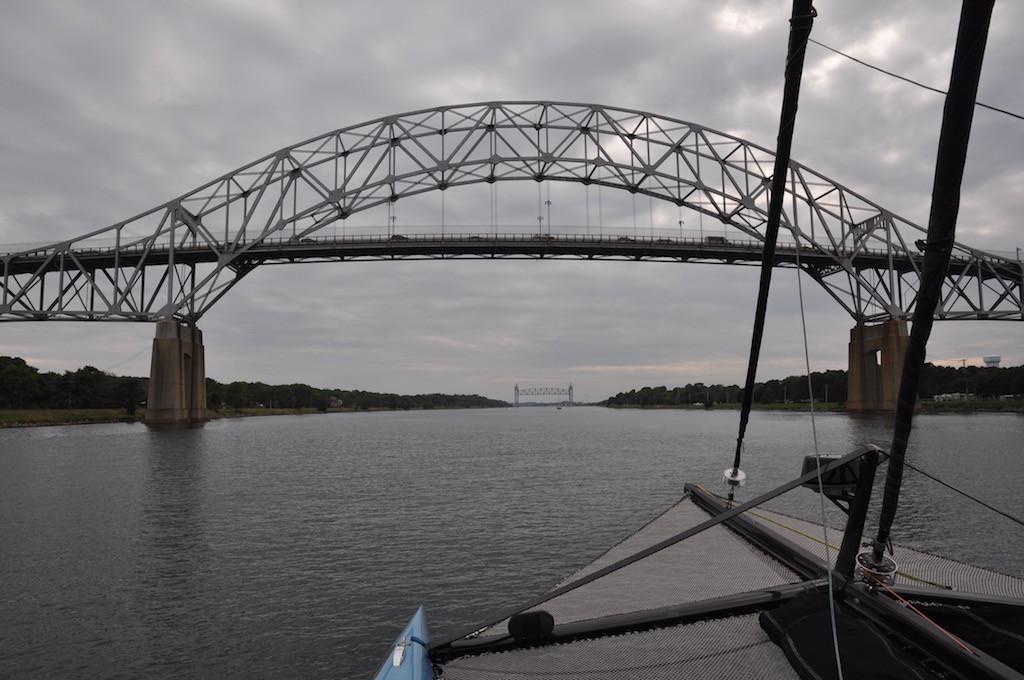 Cape Cod Canal - two bridges