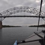 Cap Cod Canal - two bridges