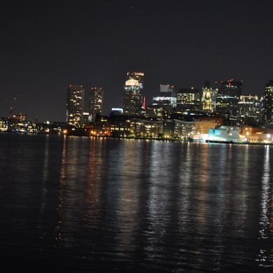 Boston night light