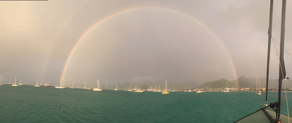 Double Rainbow Marigot, SXM