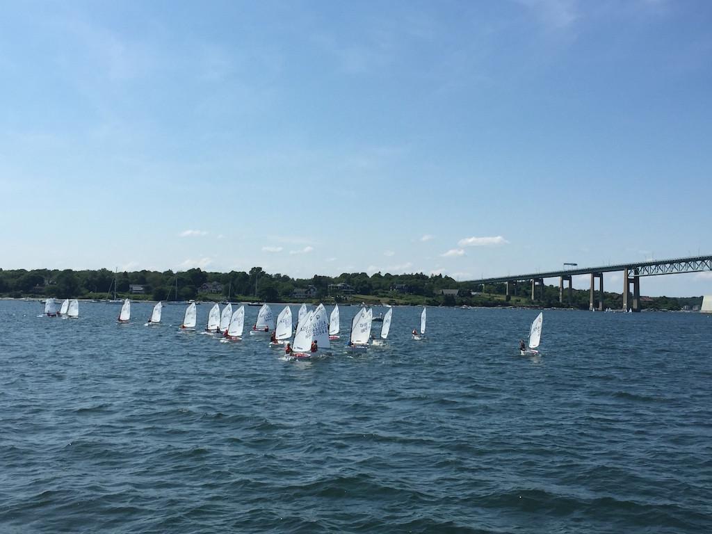 Sailing community Newport - kids