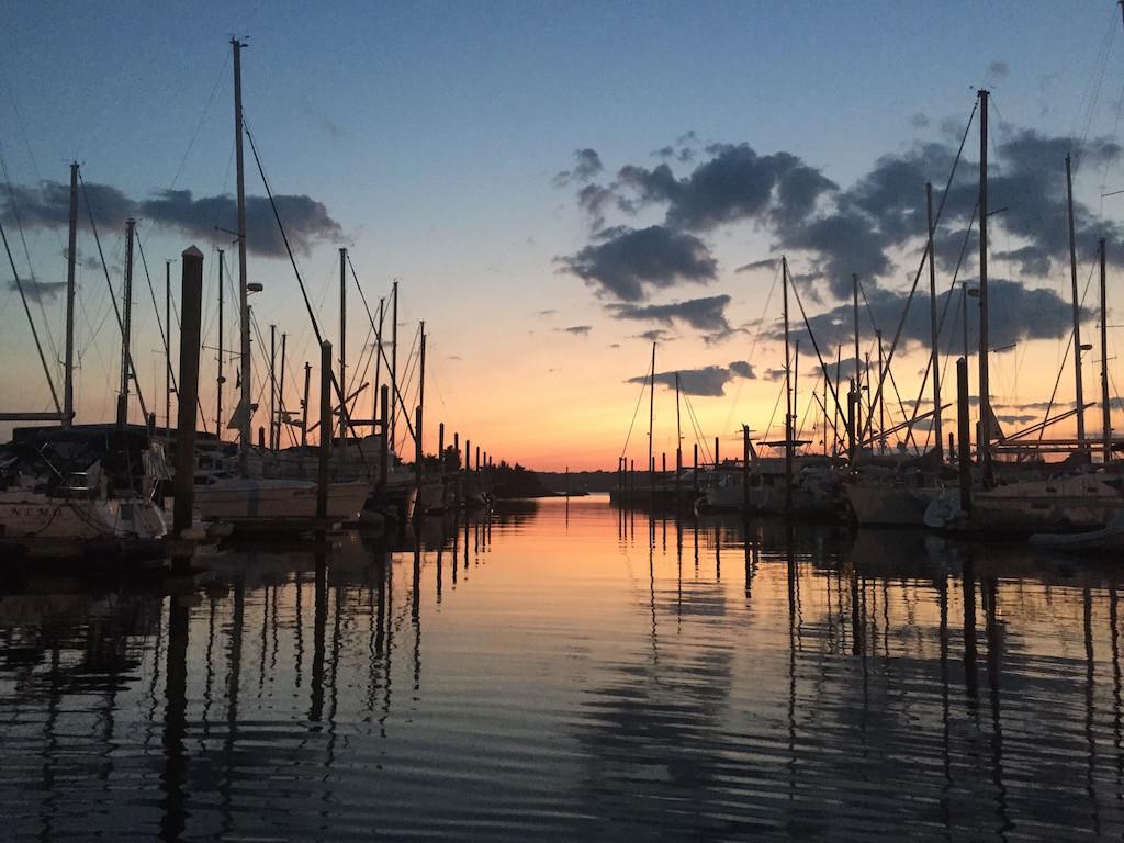 lots of boats in Rhode Island