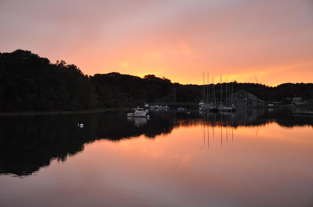 Sunset at Thomaston, Maine