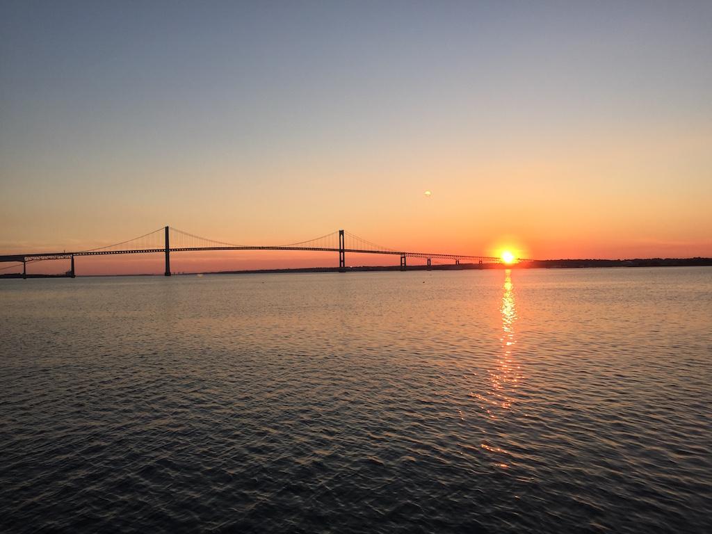 New England July 2016 Newport Bridge