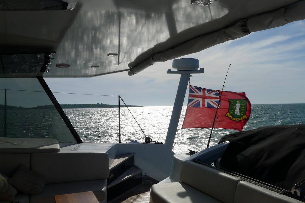 New England July 2016 on board Moonwave