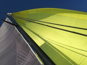 Big spinnaker time