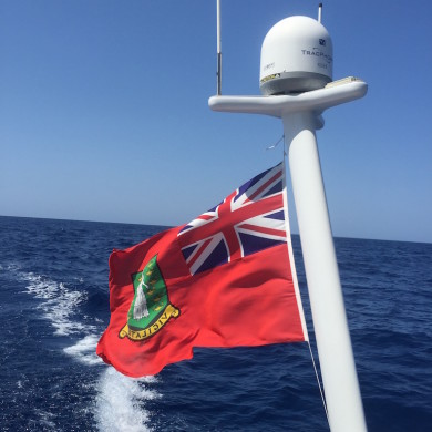 Underway - flag