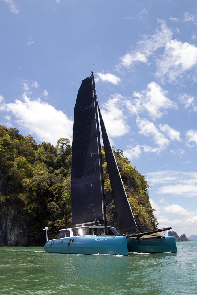 hybrid catamaran