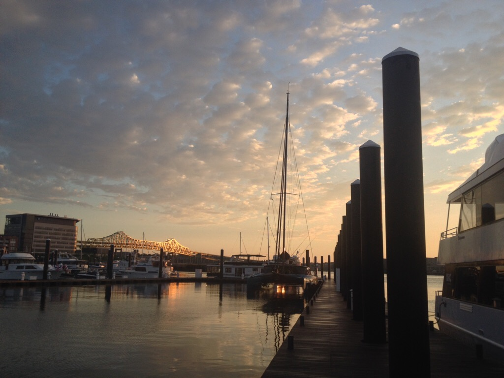 New England July 2016 Charlestown Marina