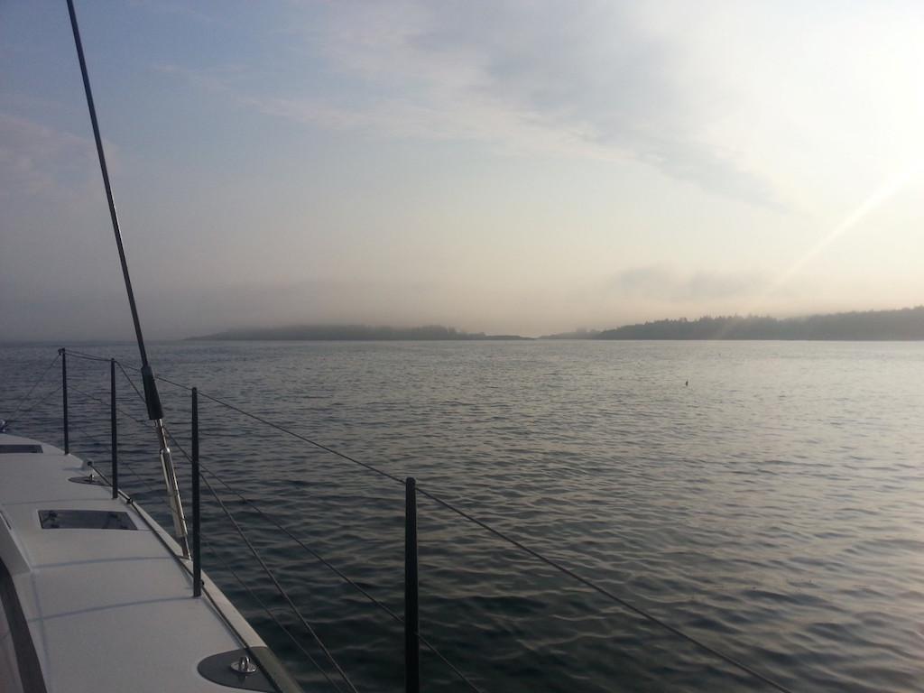 Fog in Maine - Aug 2015
