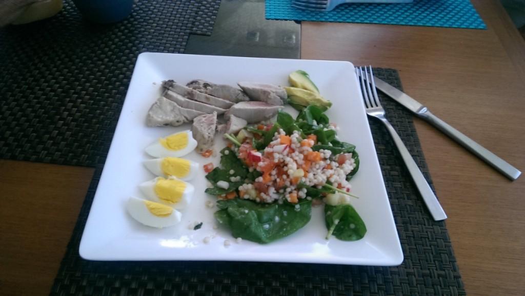 Carib1500 Tuna cooked