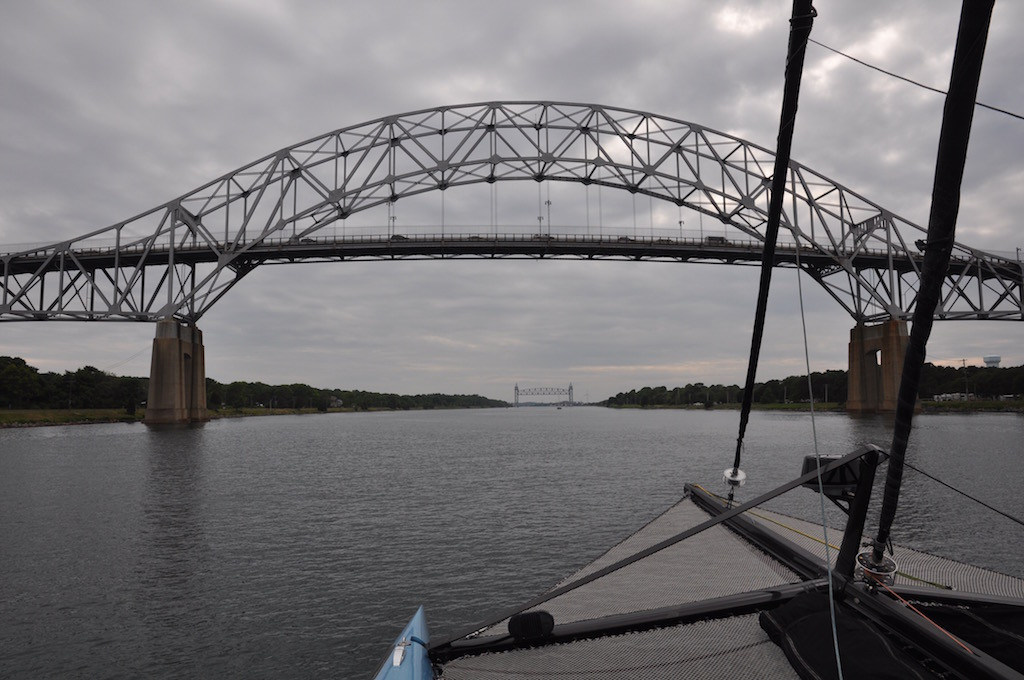 Cape Cod Canal - two bridges