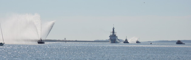 US Coast Guard arriving Boston