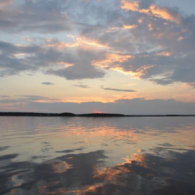 Sunrise calm August 2015