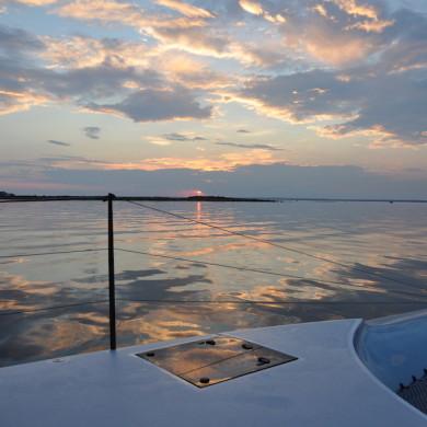 Sunrise magic reflection Aug 2015