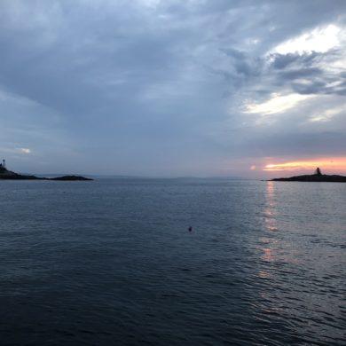 Sunrise in the islands