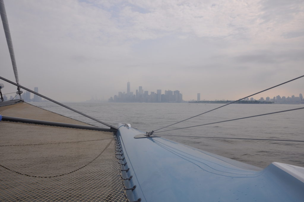 Approaching New York City