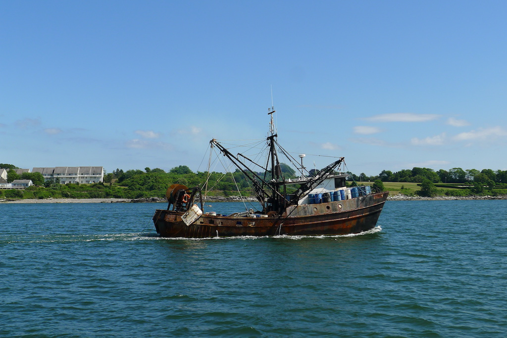 New England July 2016 Fishing Boat