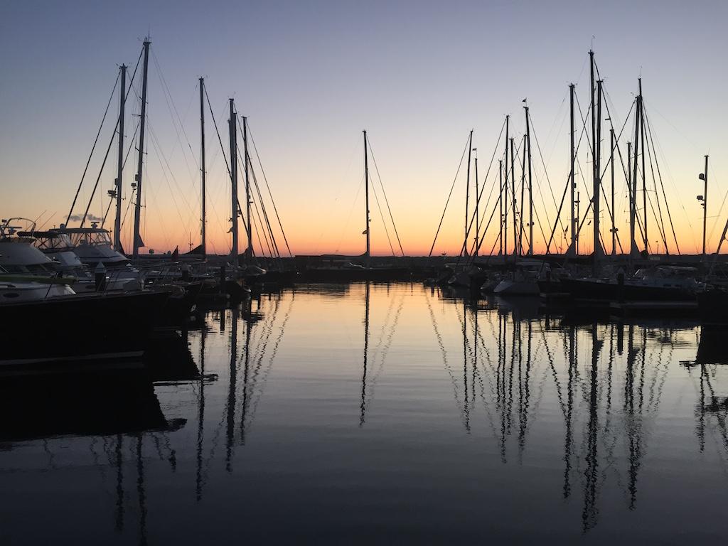 Sunset Portsmouth RI 2016