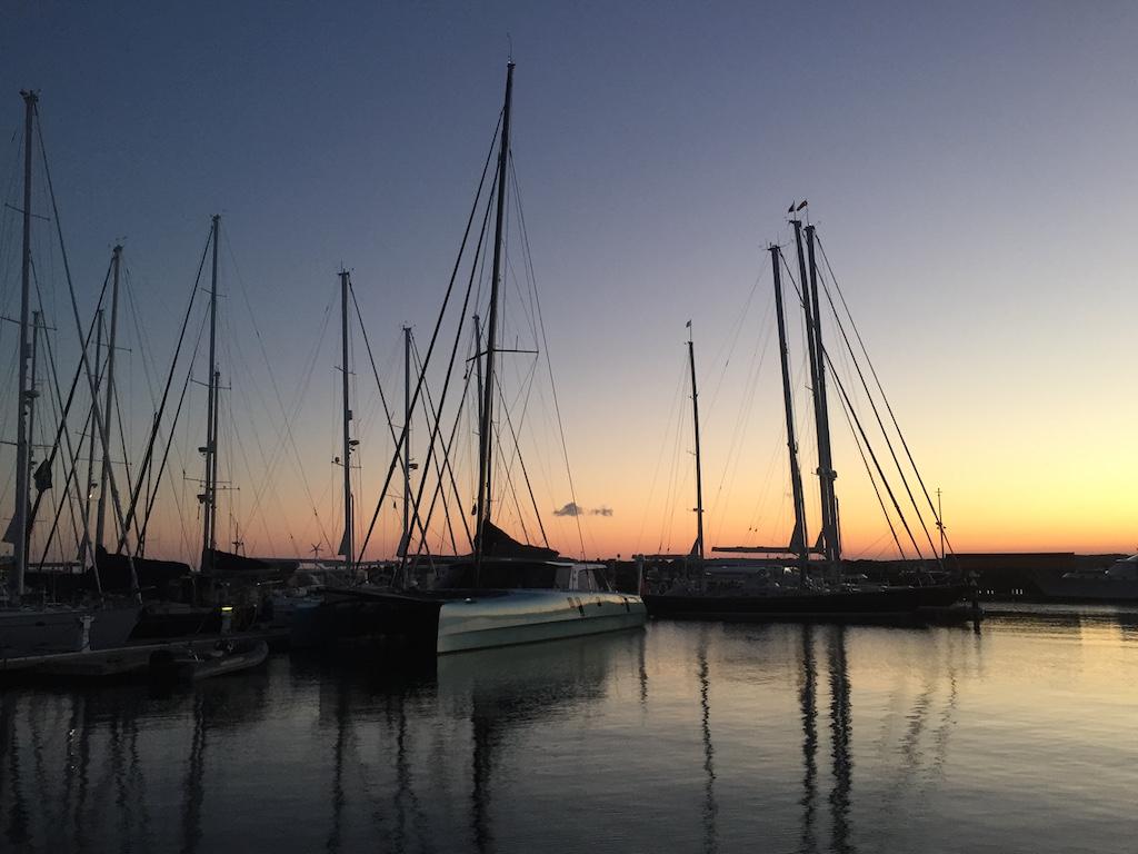 Sunset Portsmouth 2016 Moonwave