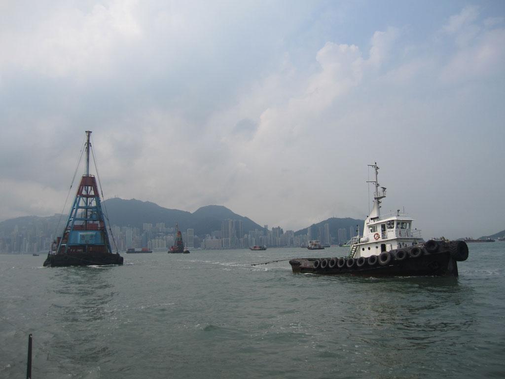 ship traffic